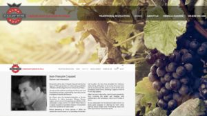 Alma Wines Web Content and Launch