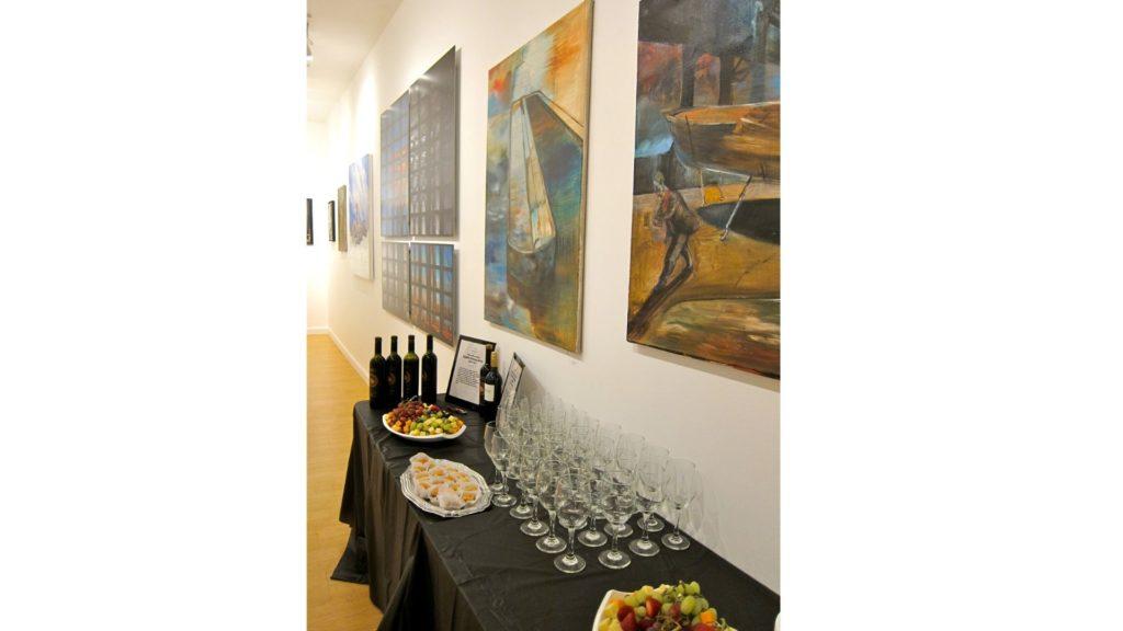 Wine Tasting Event Dacia Gallery, NY