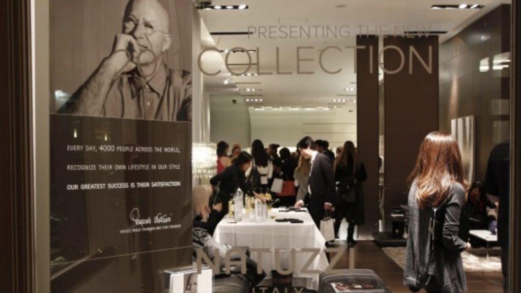 natuzzi new collection launch