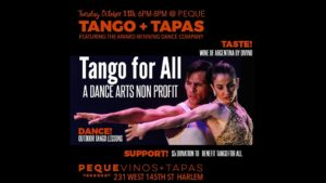 Fundraising Event_ Wine and Tango
