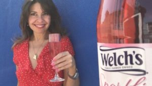 video marketing for welch's sparkling rose