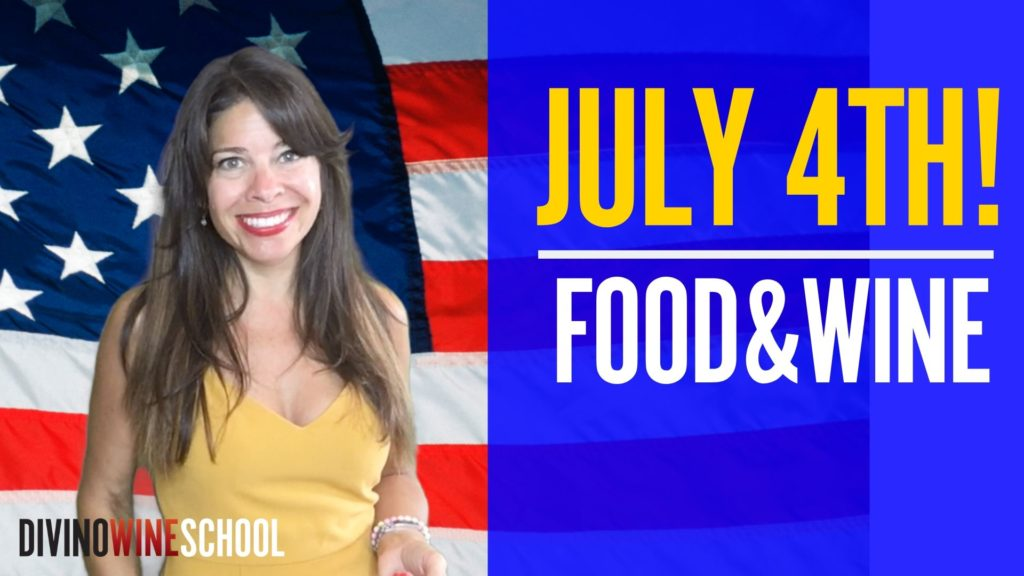 learn to pair food and wine july 4th