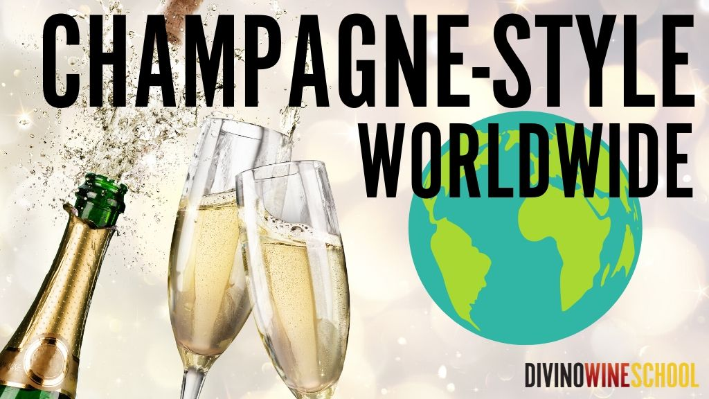 4 CHAMPAGNE STYLE SPARKLING WINES