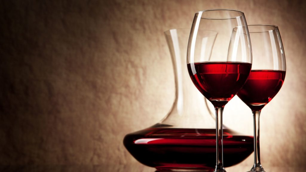 wine decanting