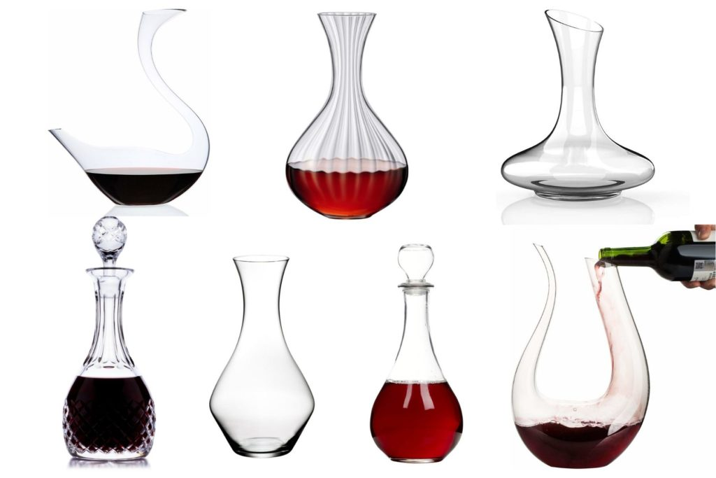 types of decanters