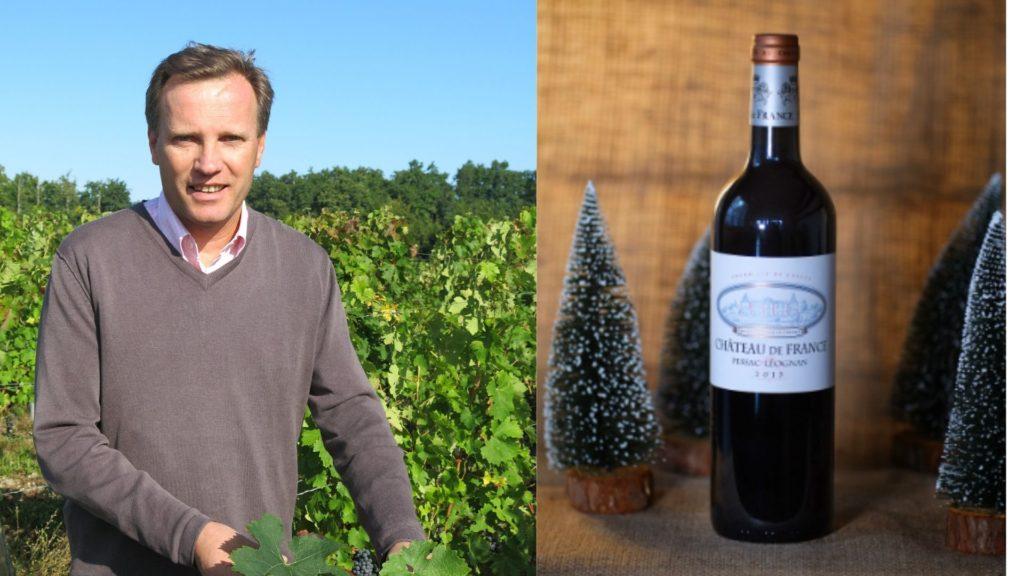 Winemaker Arnaud Thomassin Christmas