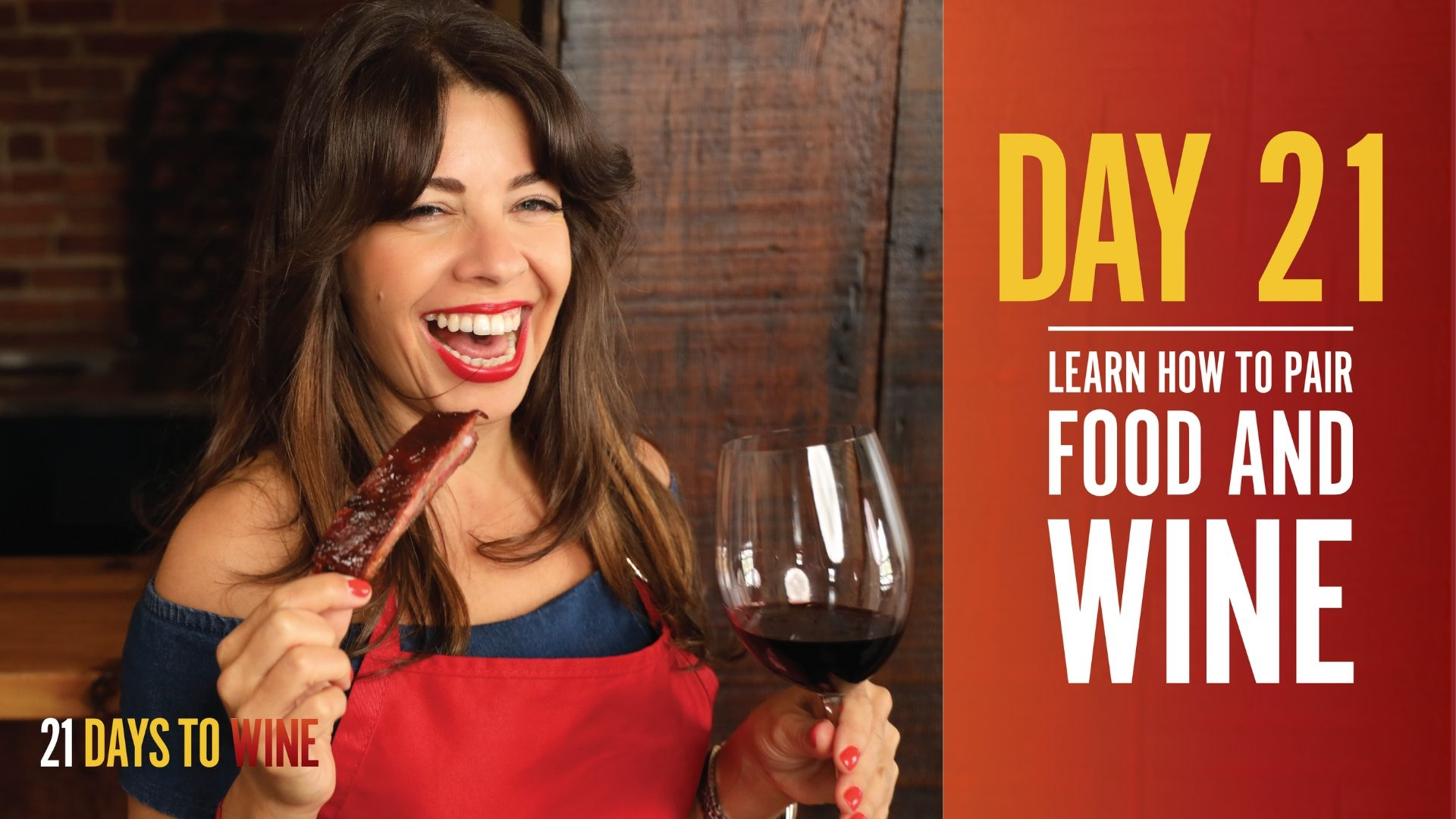 learn how to pair food and wine