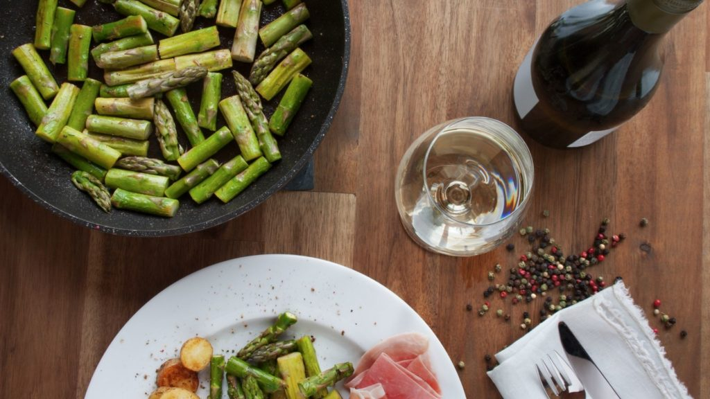 easter food and wine pairing